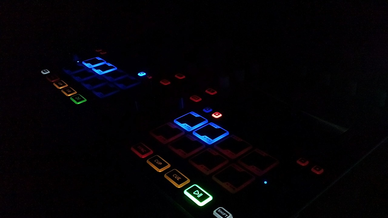 dj controller darkness free photo