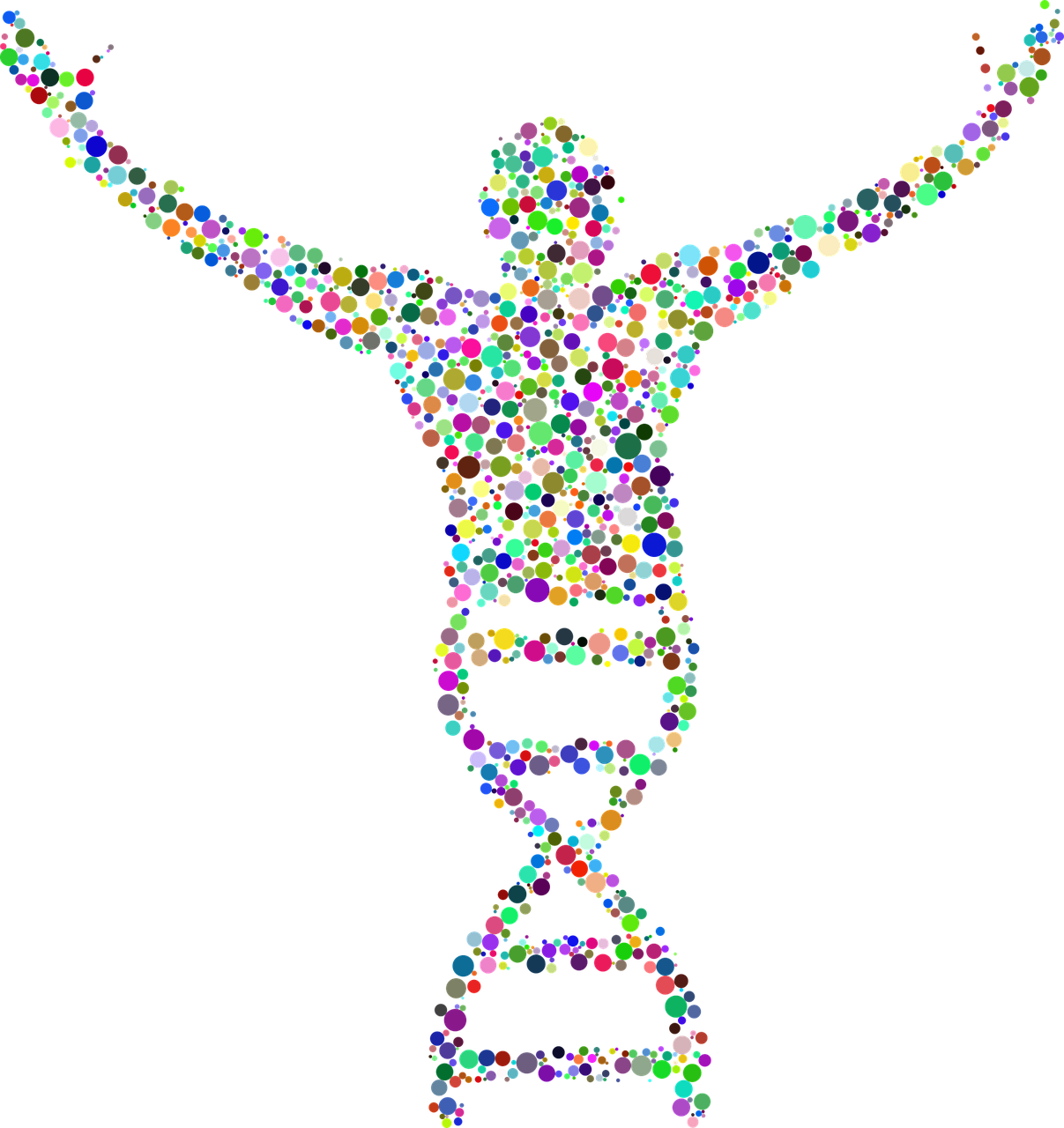 dna deoxyribonucleic acid people free photo