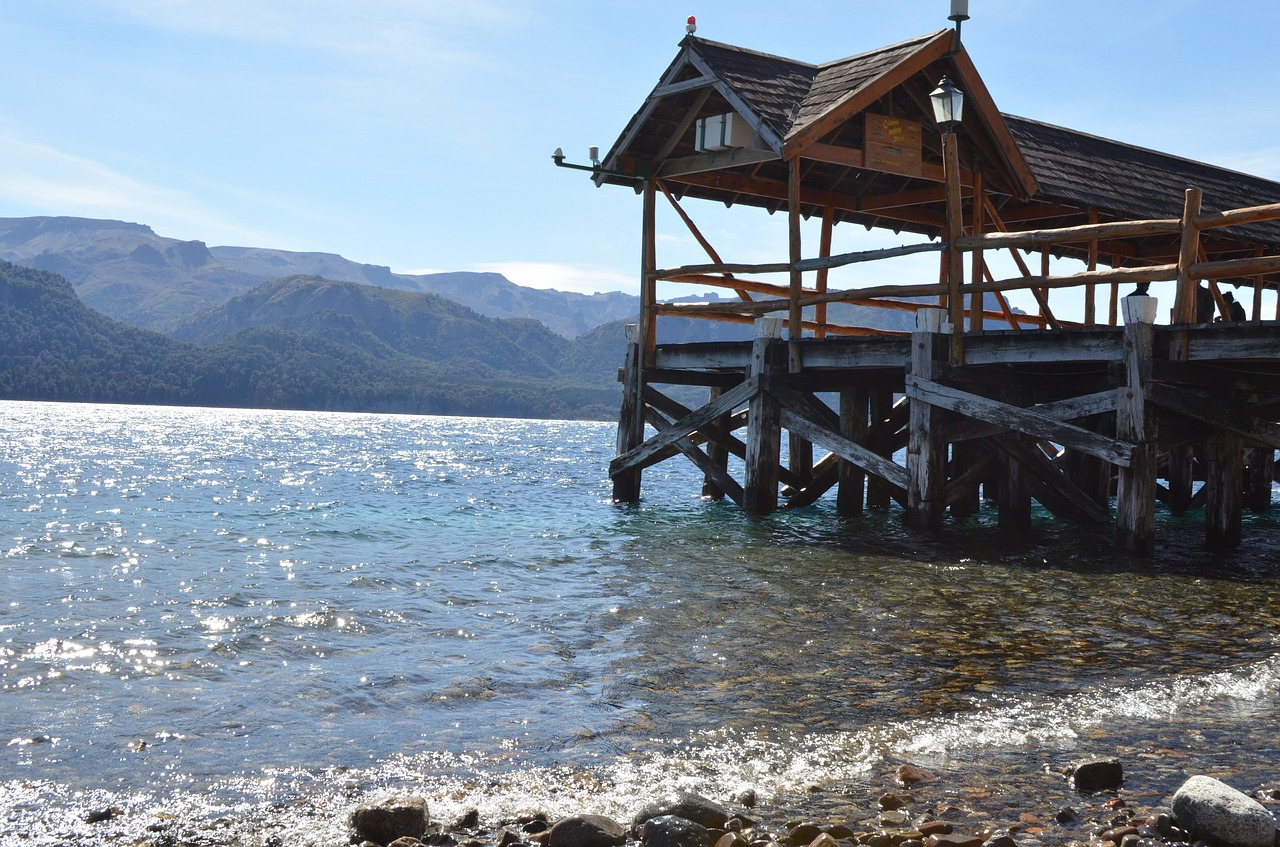 dock autumn patagonia free photo