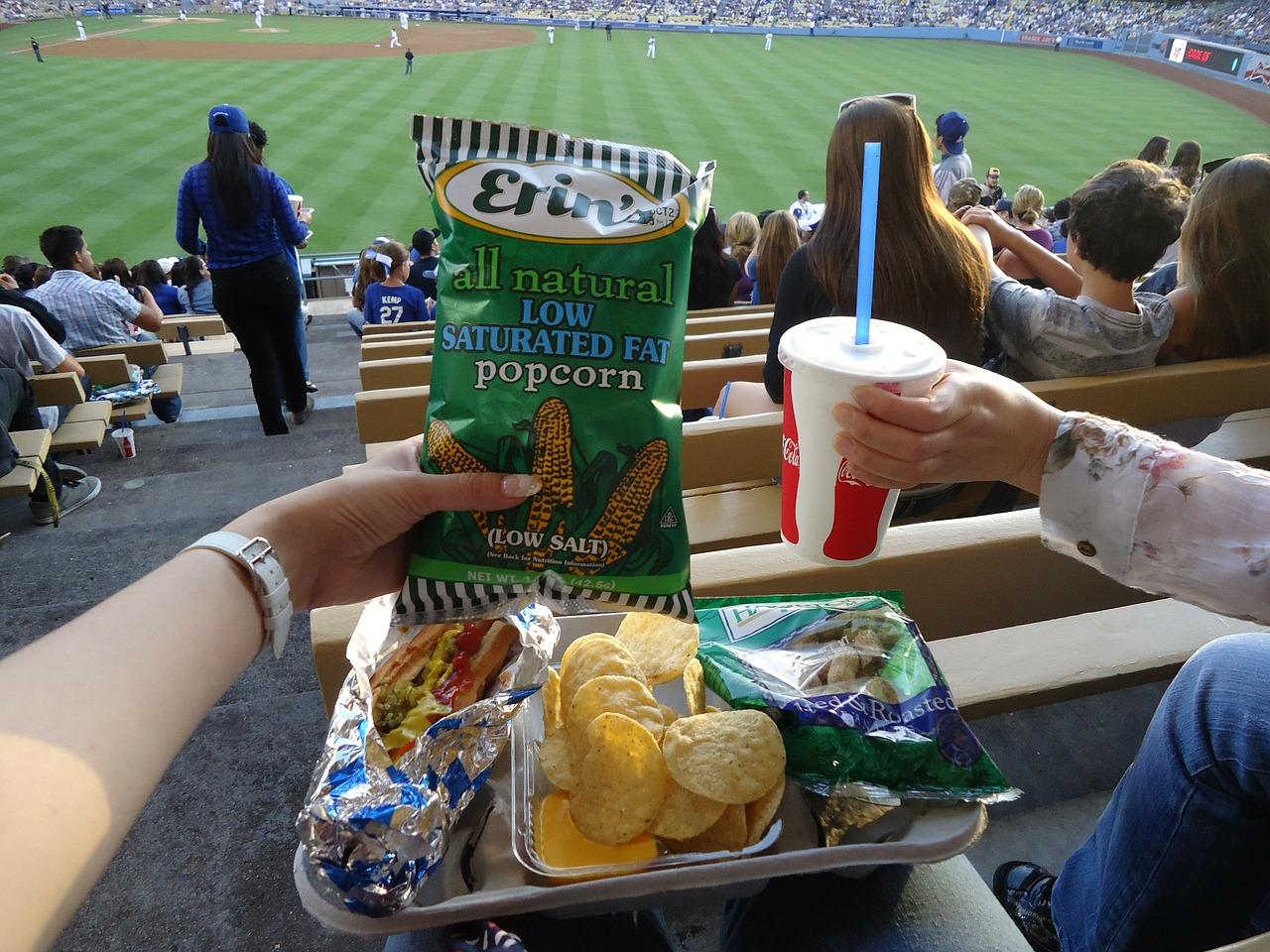 Dodgersdodgers Stadiumfooddrinksoda Free Photo From Needpixcom