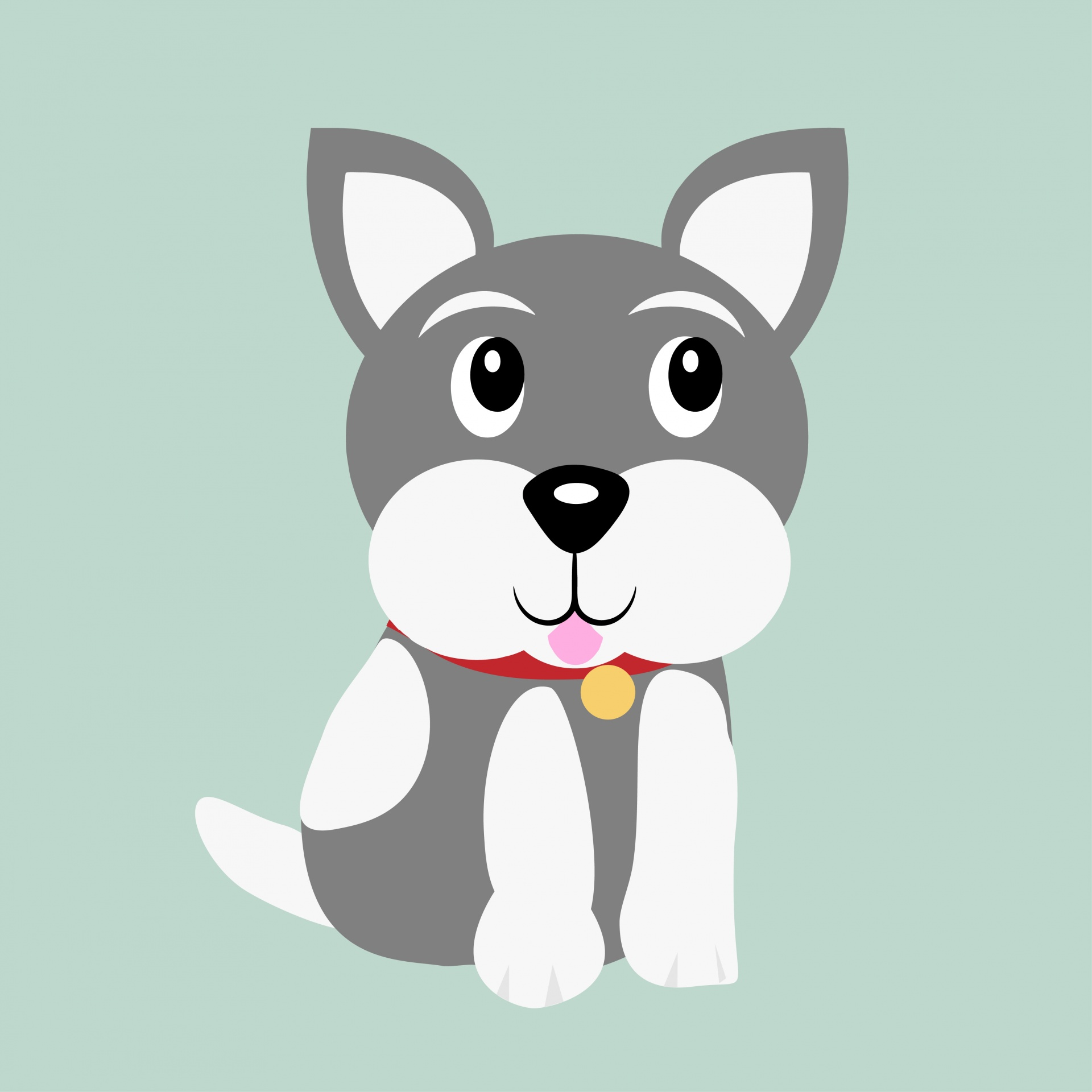 Dog Cartoon Illustration Puppy Cute Free Image From Needpix Com