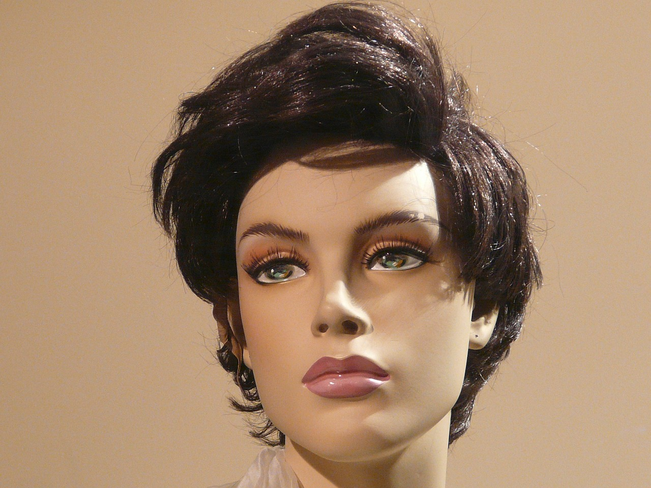 doll display dummy face free photo