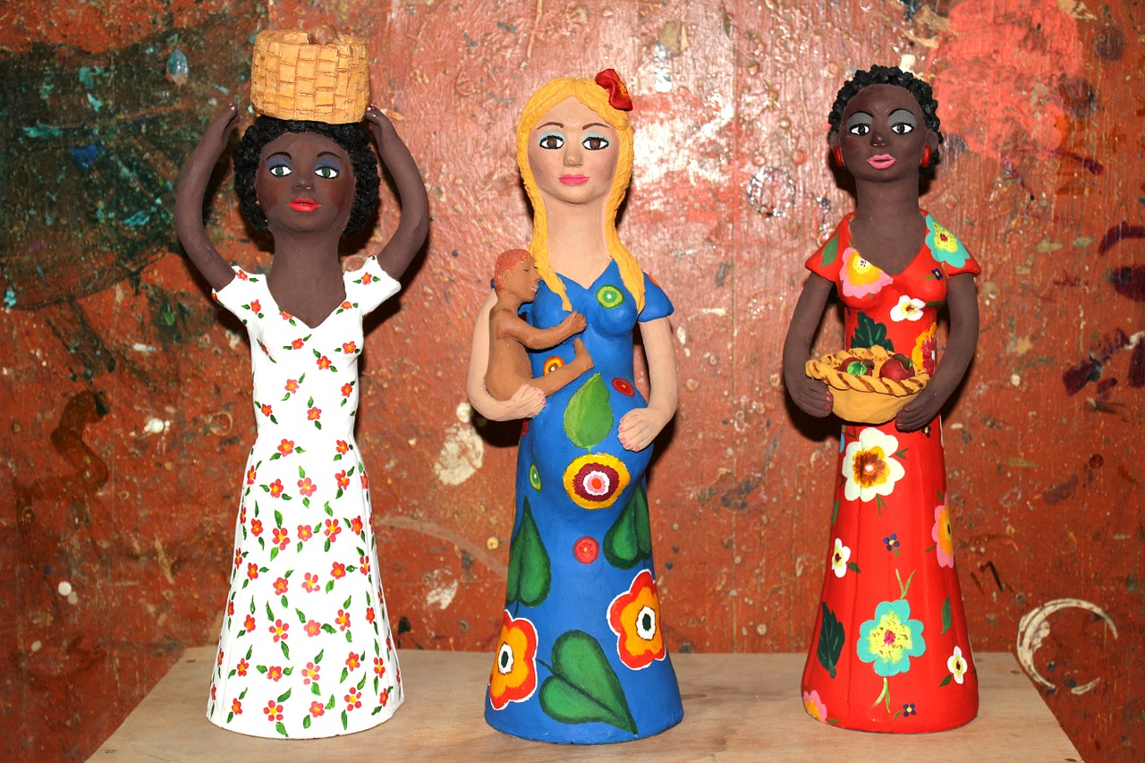dolls ceramics crafts free photo