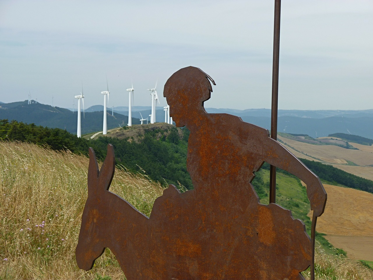 don quixote,windmills,wind power,don quijote,wind,jakobsweg,spain,free pictures, free photos, free images, royalty free, free illustrations, public domain