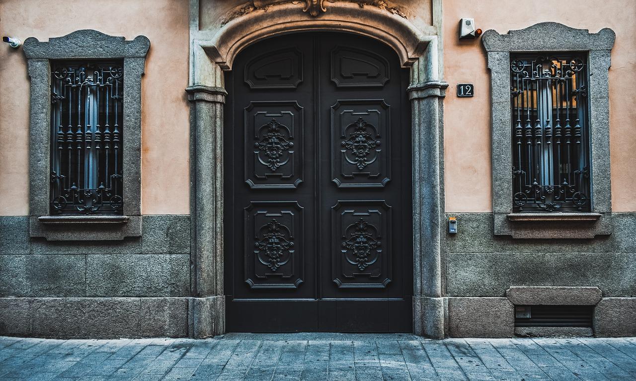Door, windows, architecture, entrance, exterior - free image from needpix.com