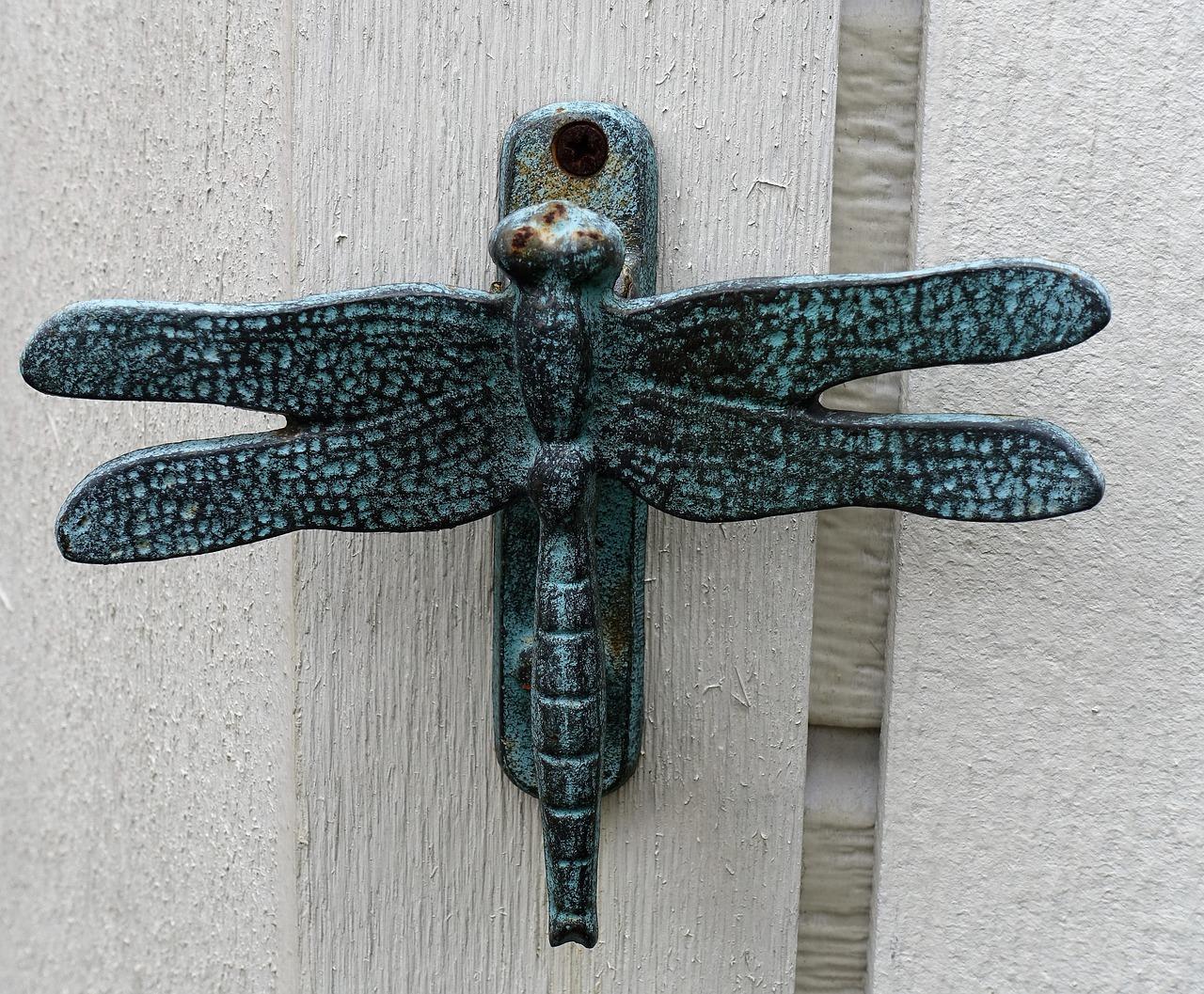 Door Knocker Decorative Dragonfly