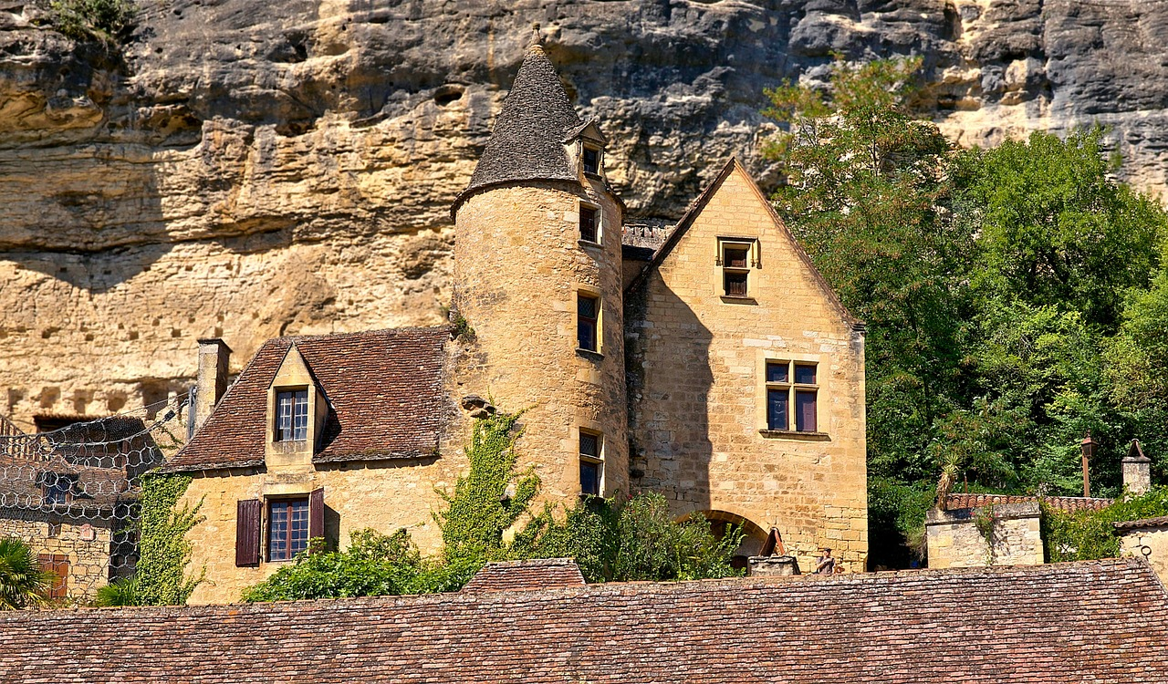 dordogne france house free photo