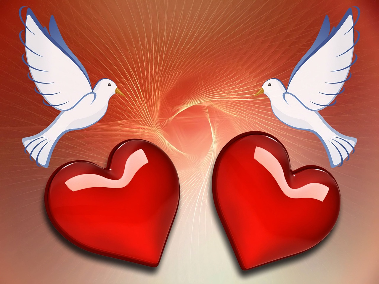 Любовные картинки с сердечками, для папы днем