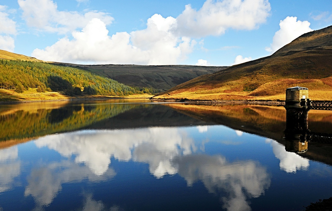 dovestones united kingdom reservoir free photo