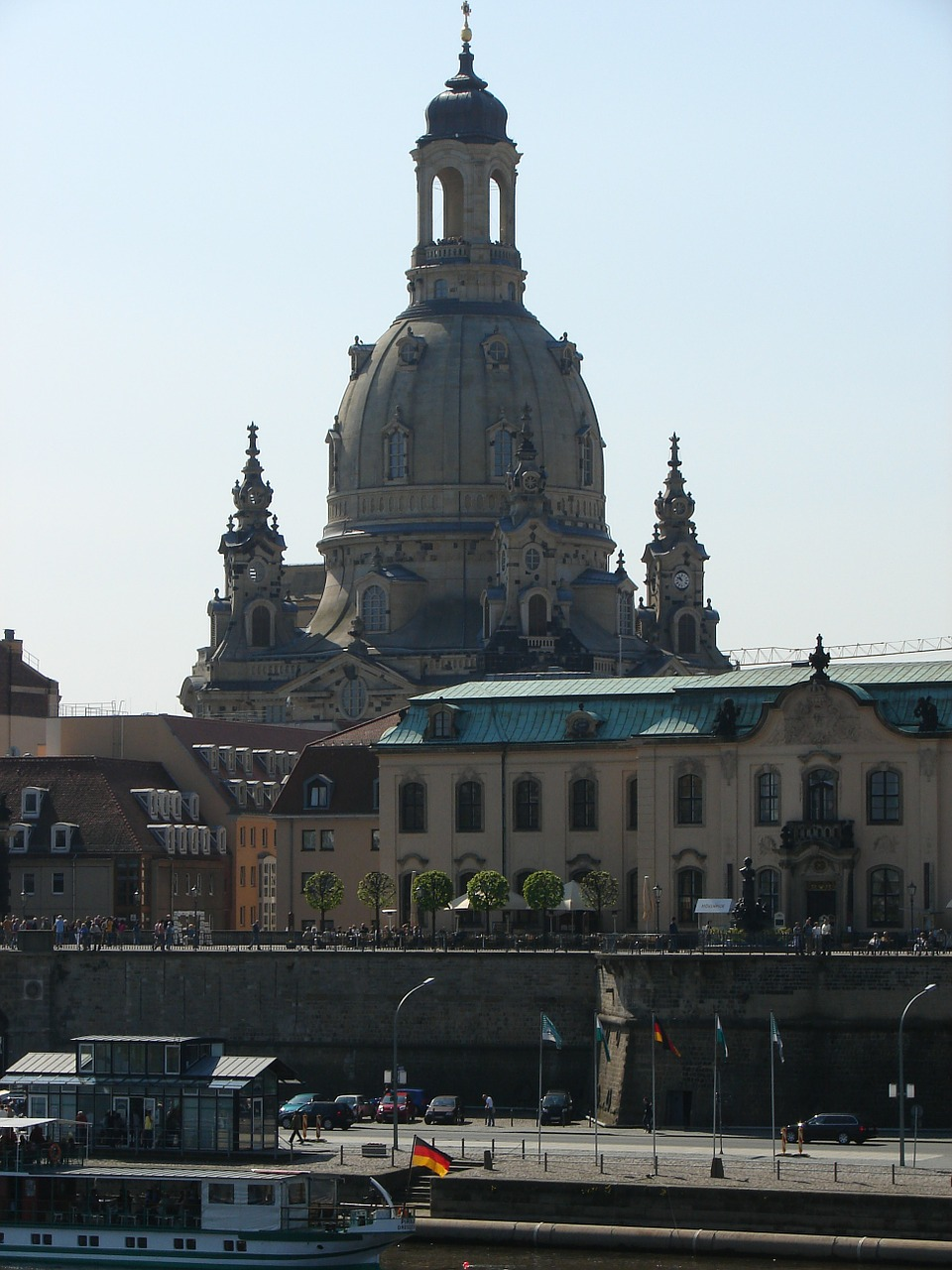 dresden frauenkirche city free photo