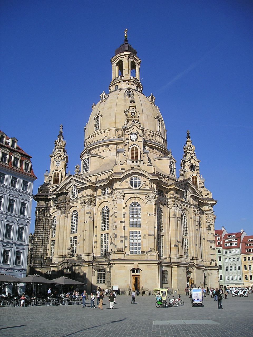 dresden city frauenkirche free picture