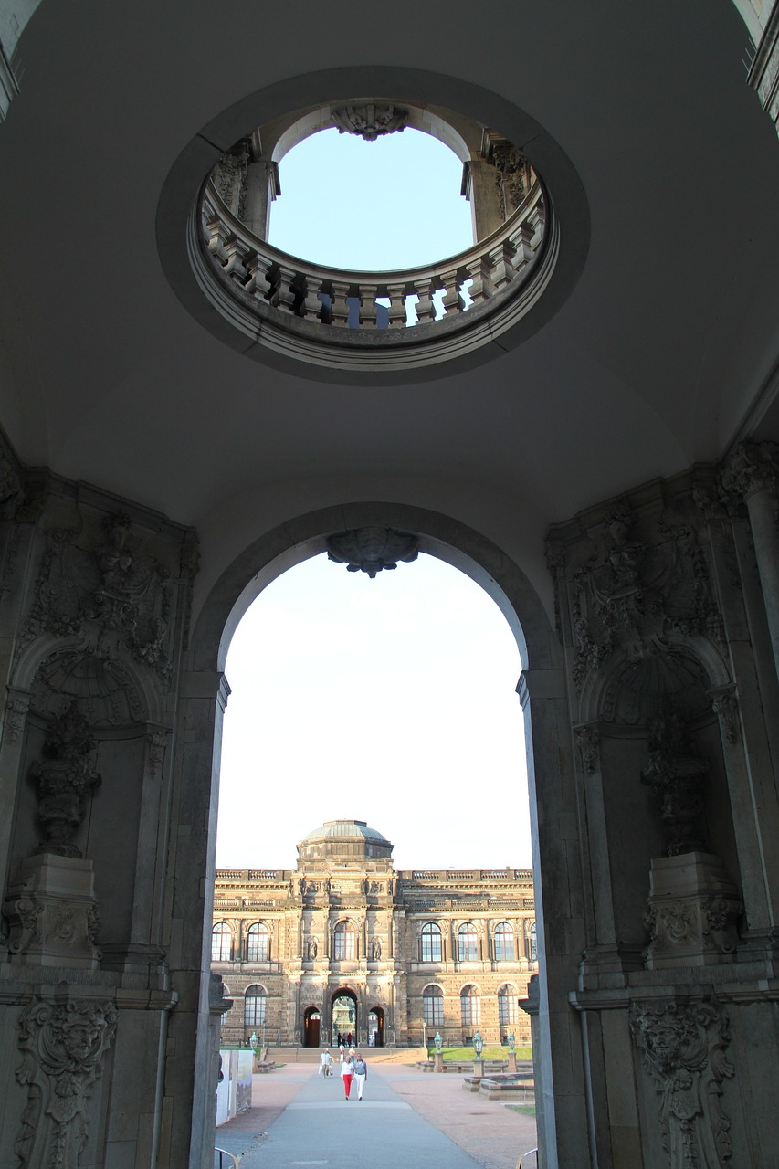 dresden germany zwinger free photo