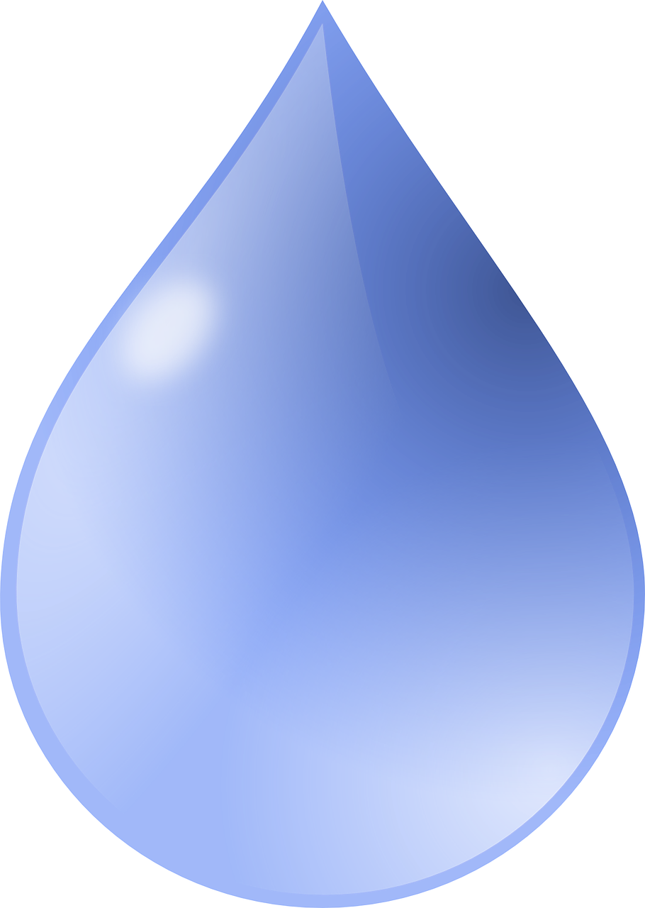 drop water blue free photo