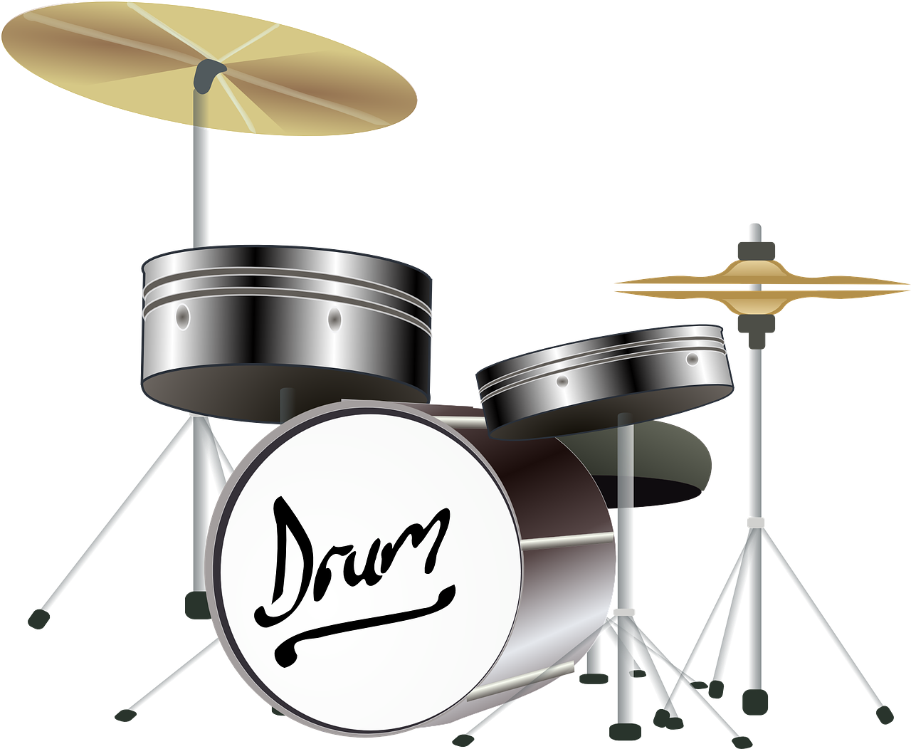 drums cymbals percussion instrument free photo
