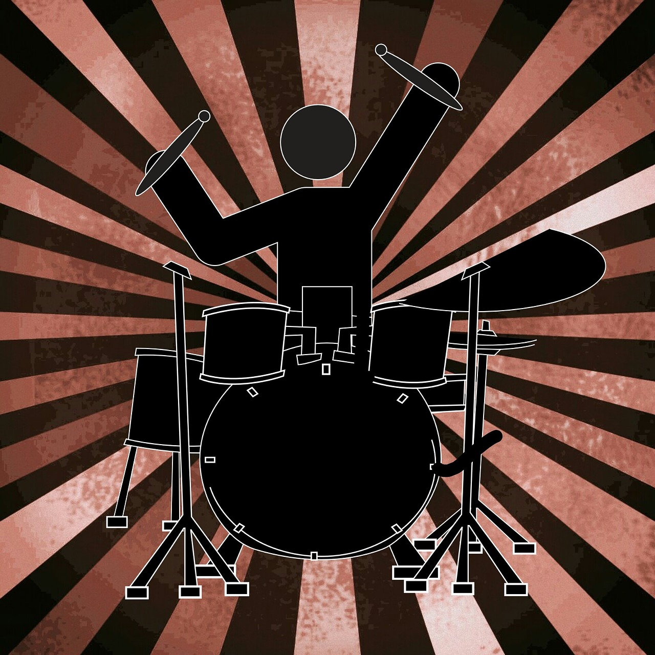 drums music musician free photo