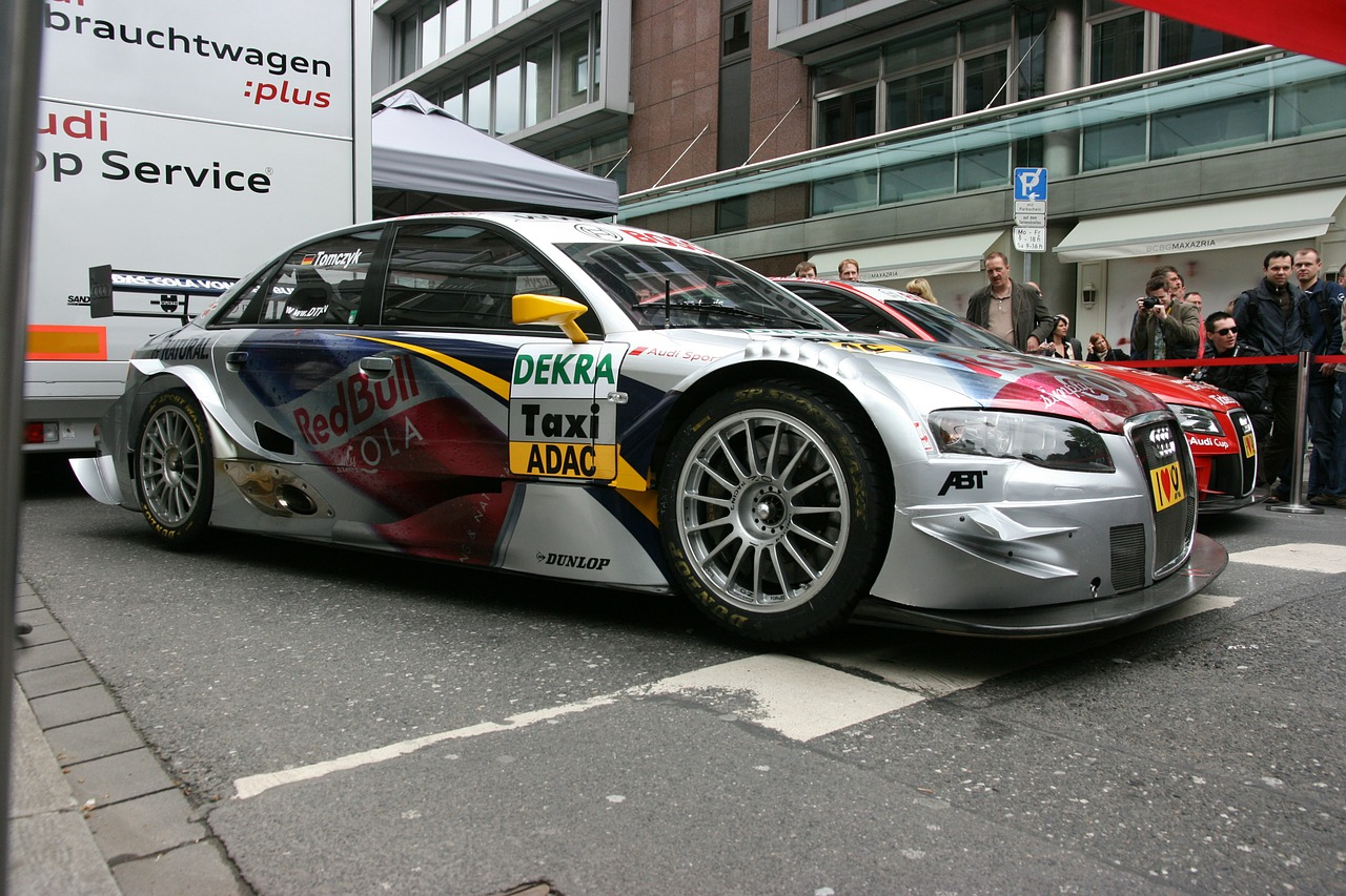 dtm racing car germany free photo