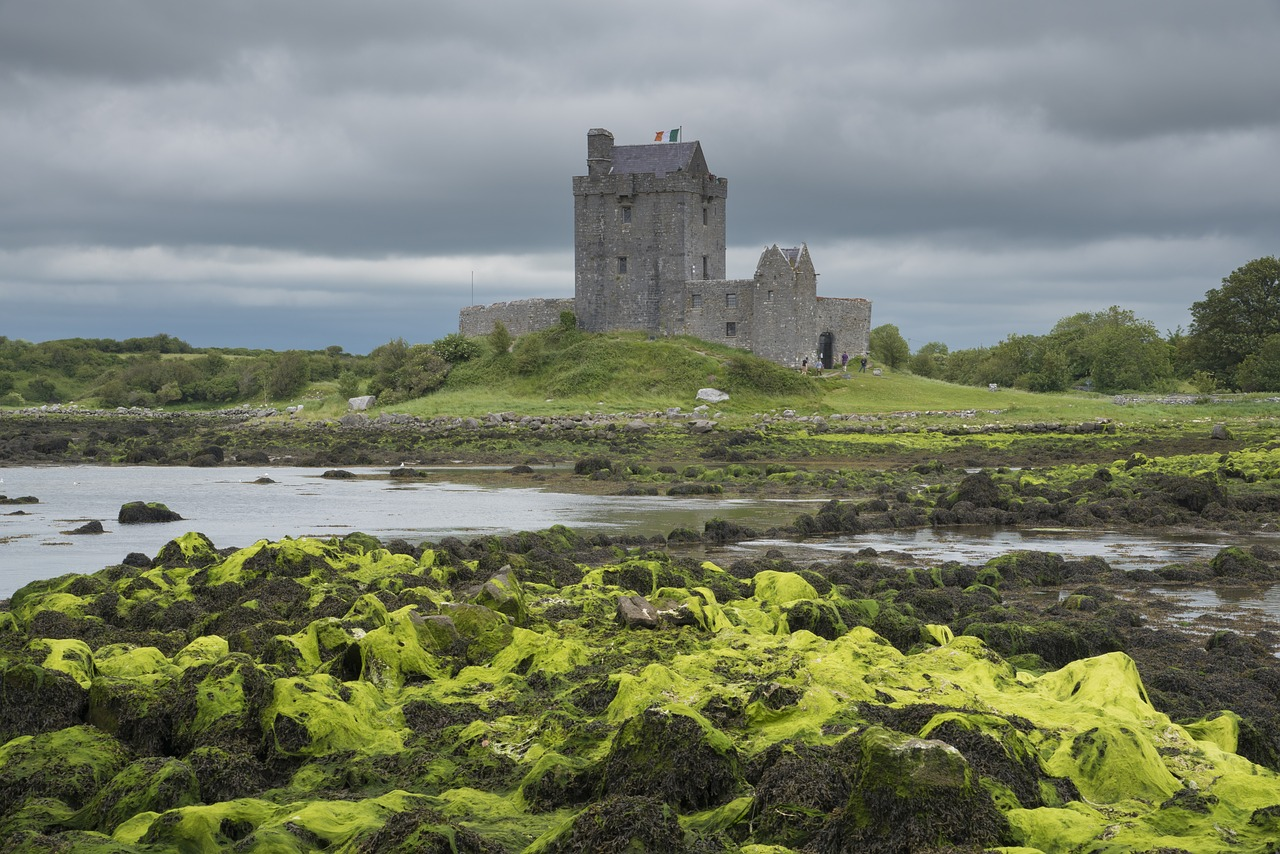 dunguaire castle co galway castle free photo