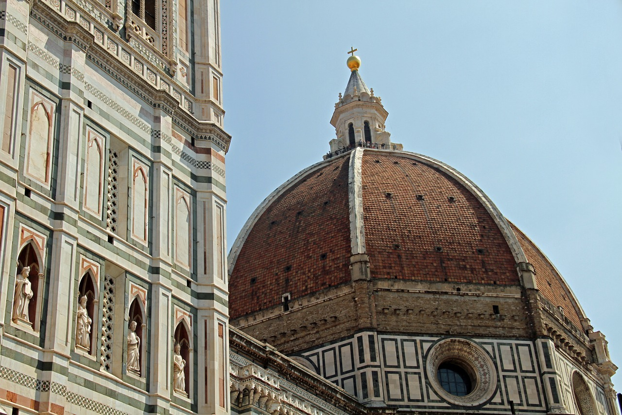 duomo florence italy church cathedral free photo from