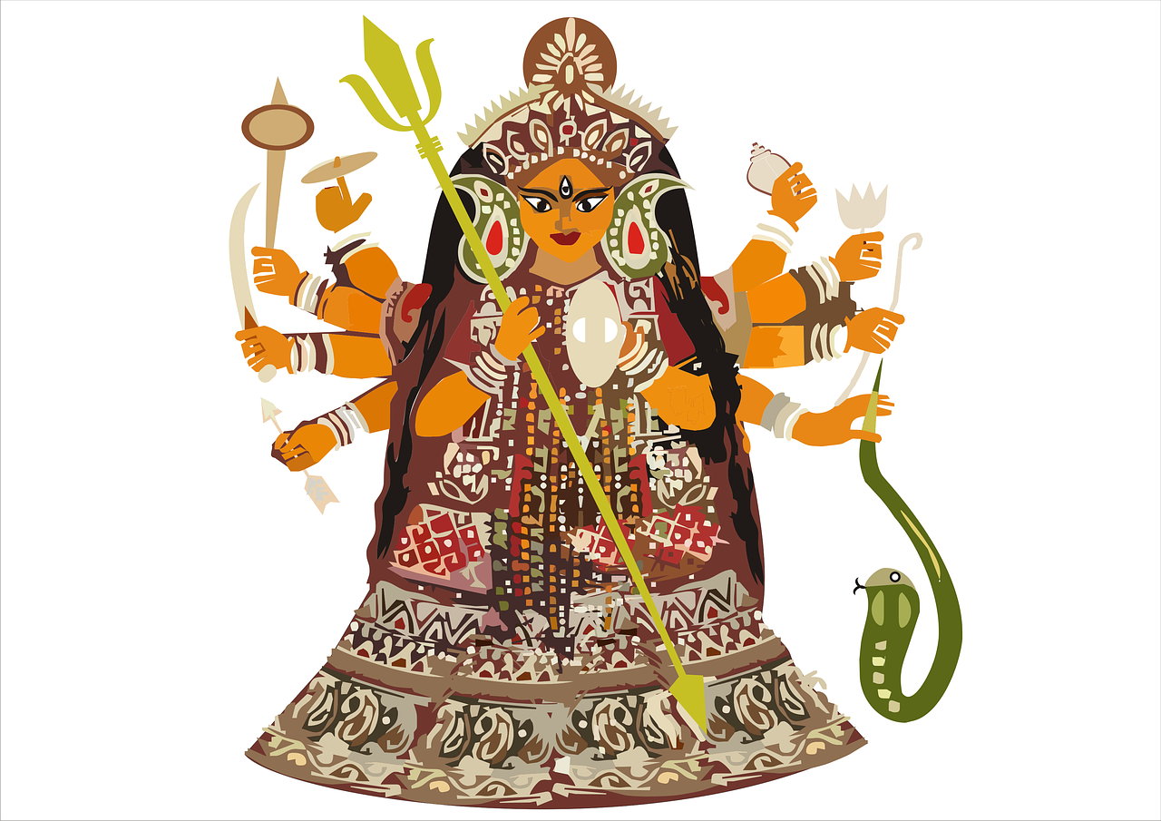Durga,bengali,kolkata,hindu,puja - free image from needpix.com