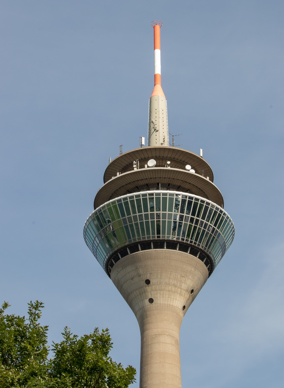 düsseldorf tv tower architecture free photo