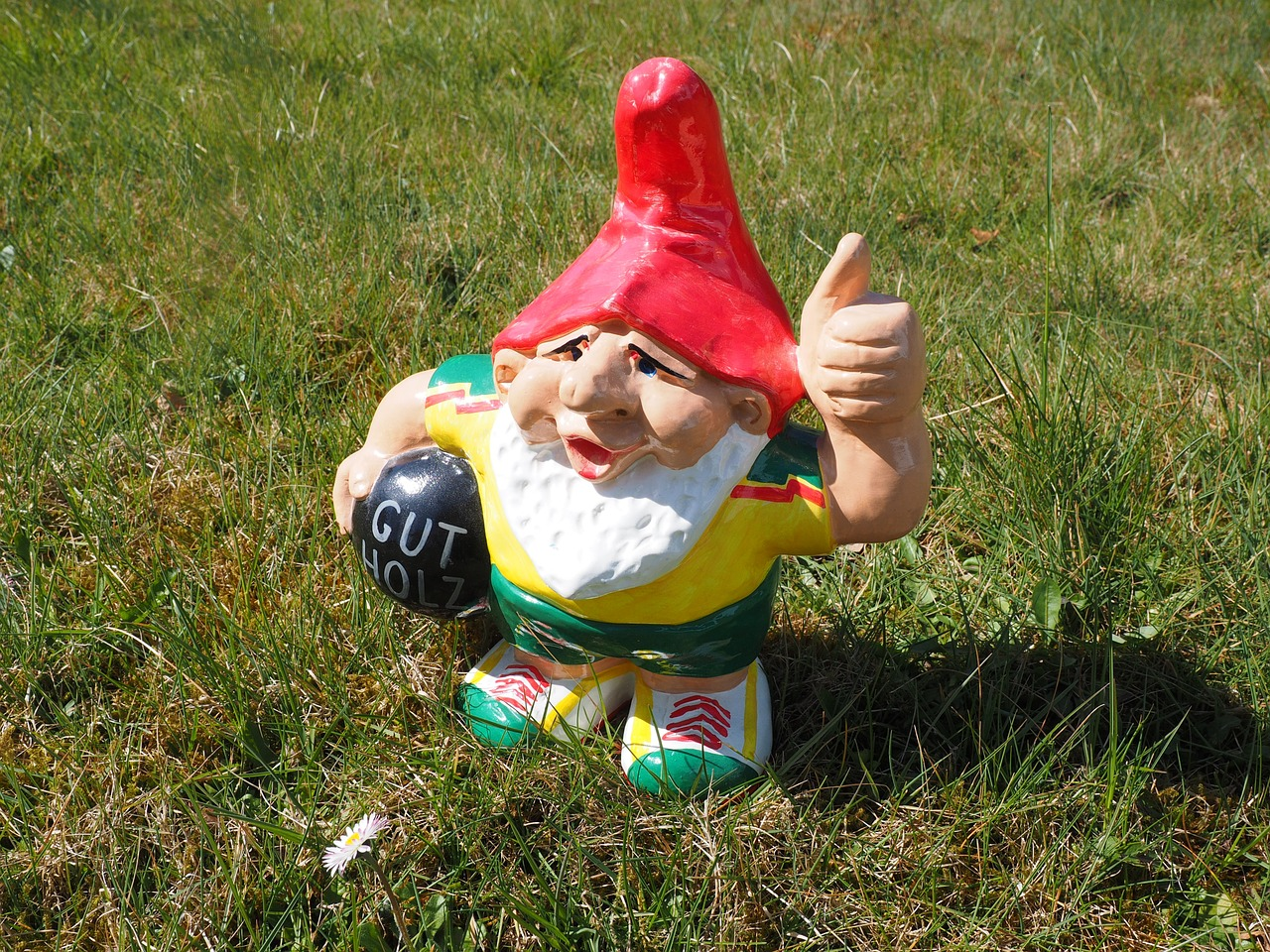dwarf thumbs up prima free photo