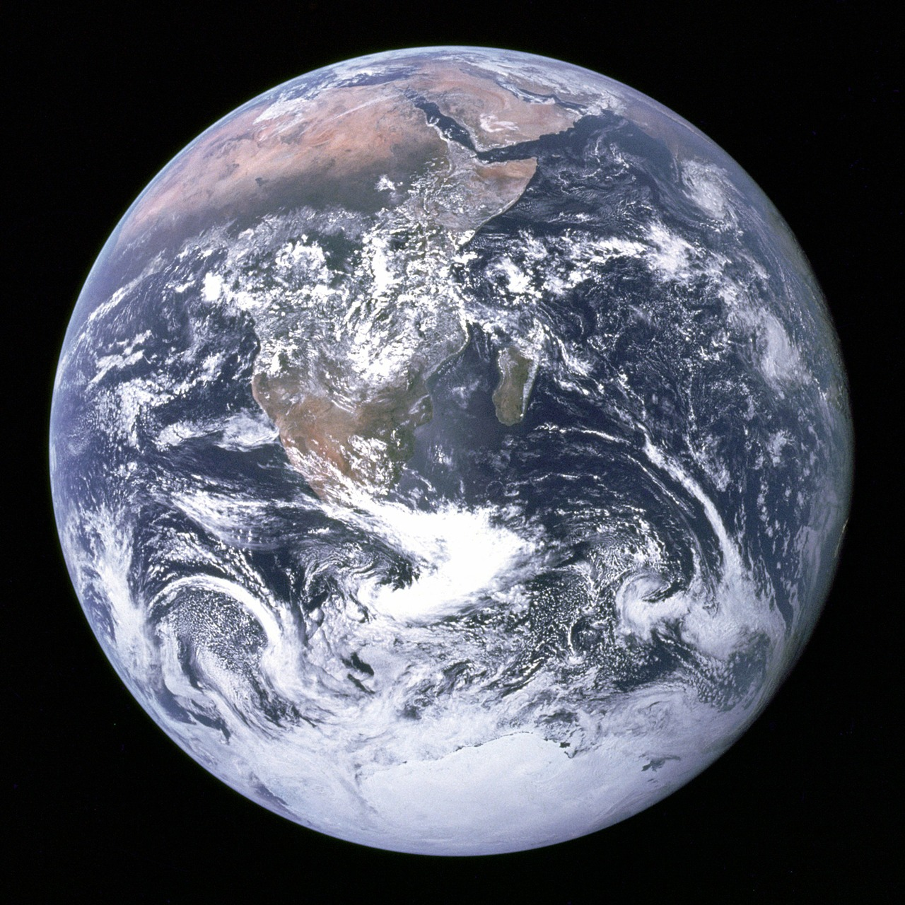 earth blue planet globe free photo