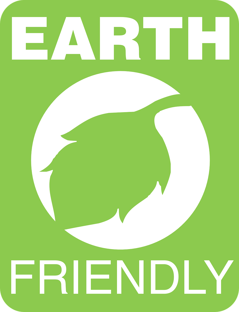 earth friendly label free photo
