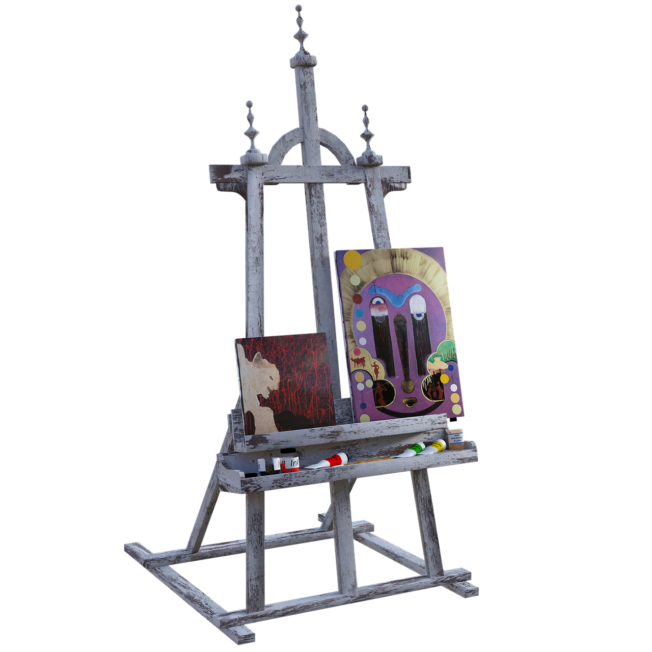 easel  art  painting free photo