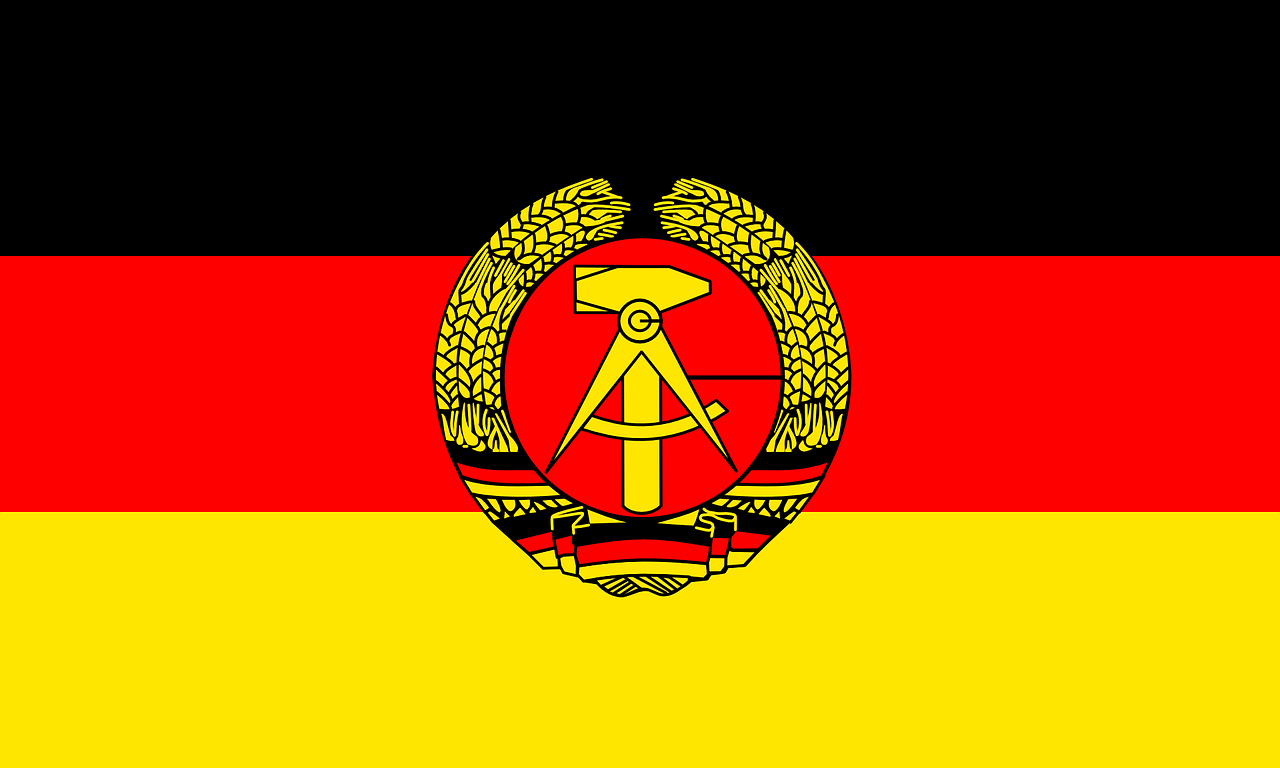 east germany flag ddr free photo