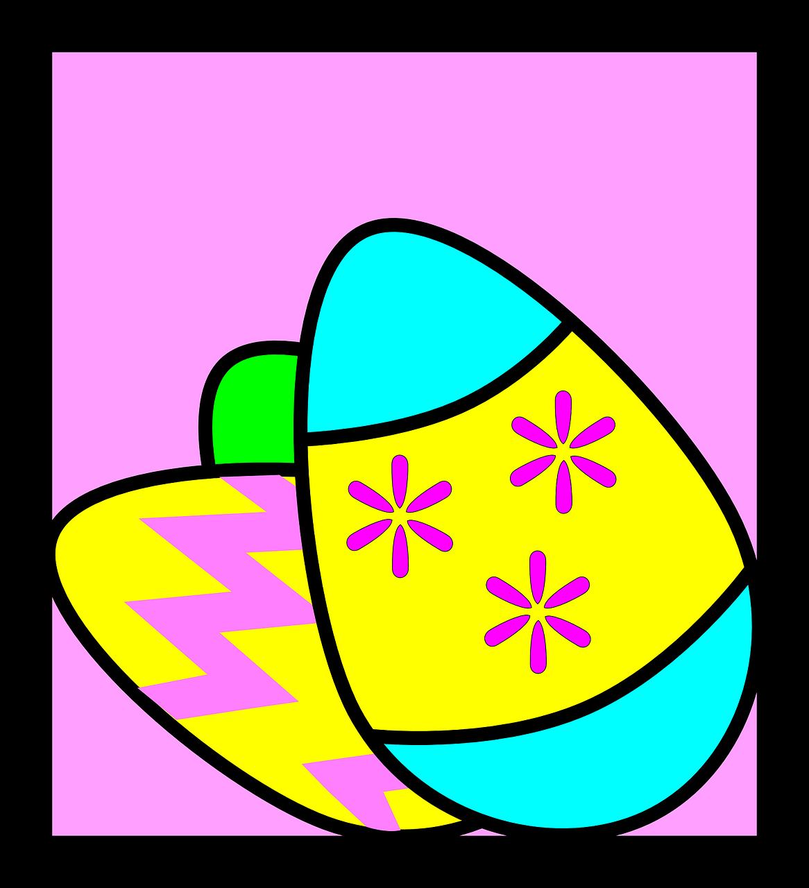 easter eggs celebration free photo