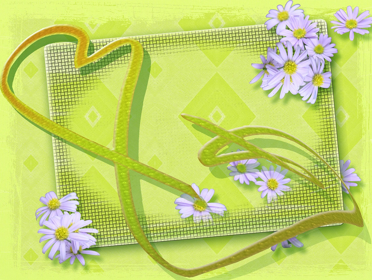 easter heart welcome free photo