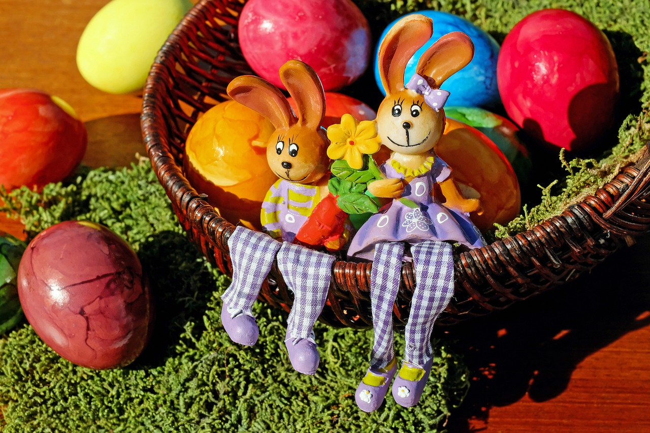 easter bunny easter figure free photo