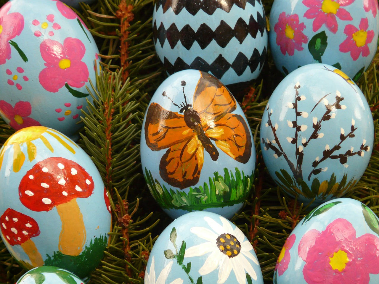 easter egg easter paint free picture