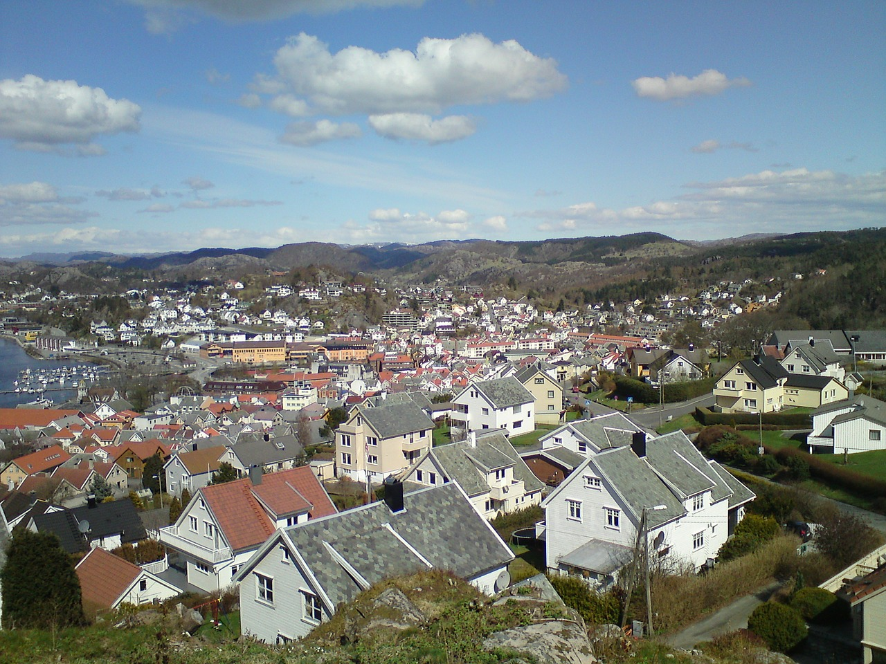 egersund norway town free photo