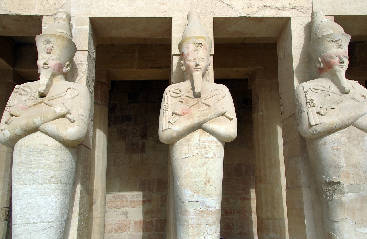 egypt  valley of the queens  hatshepsut free photo