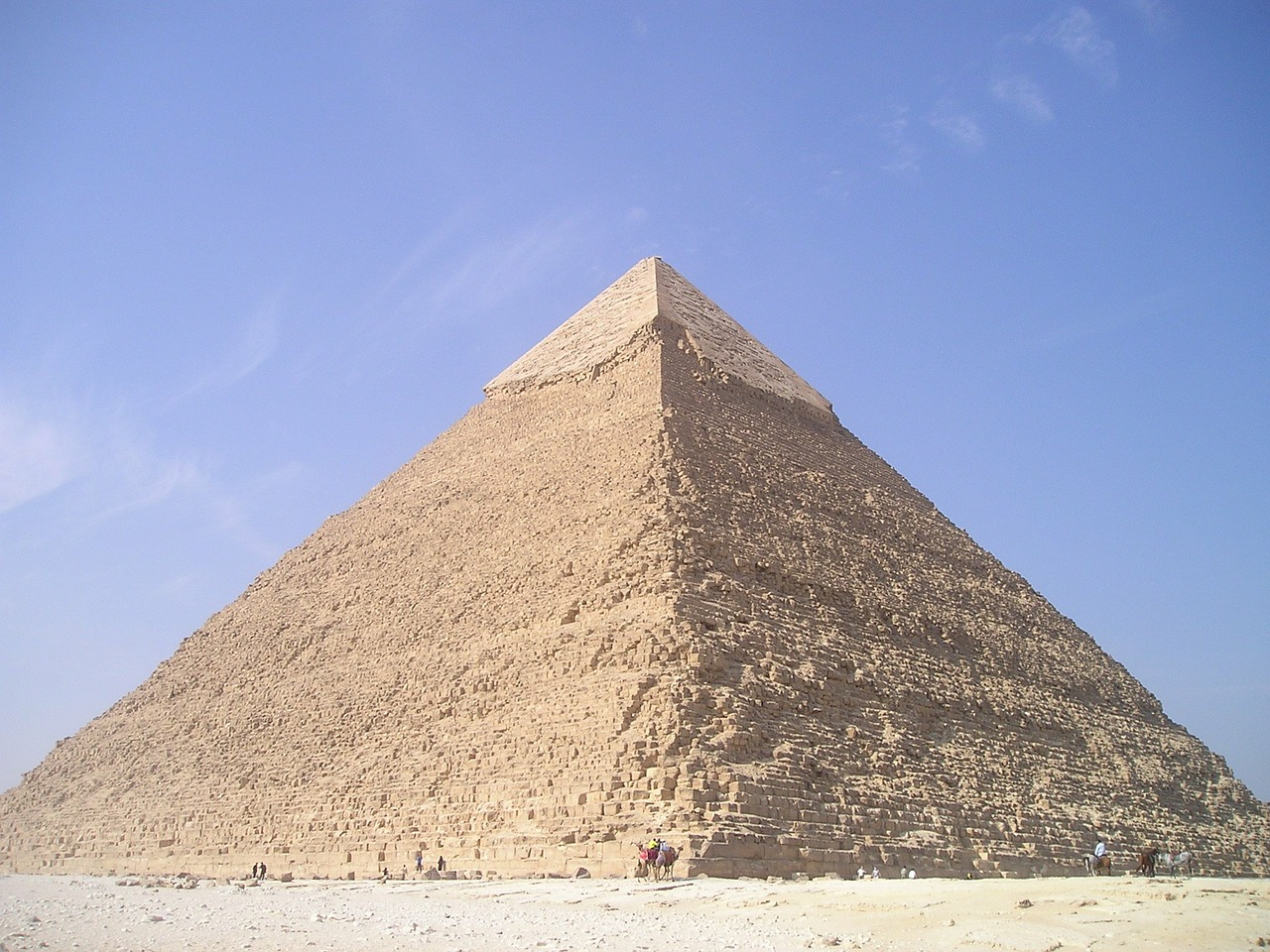 egypt chephren pyramid free photo