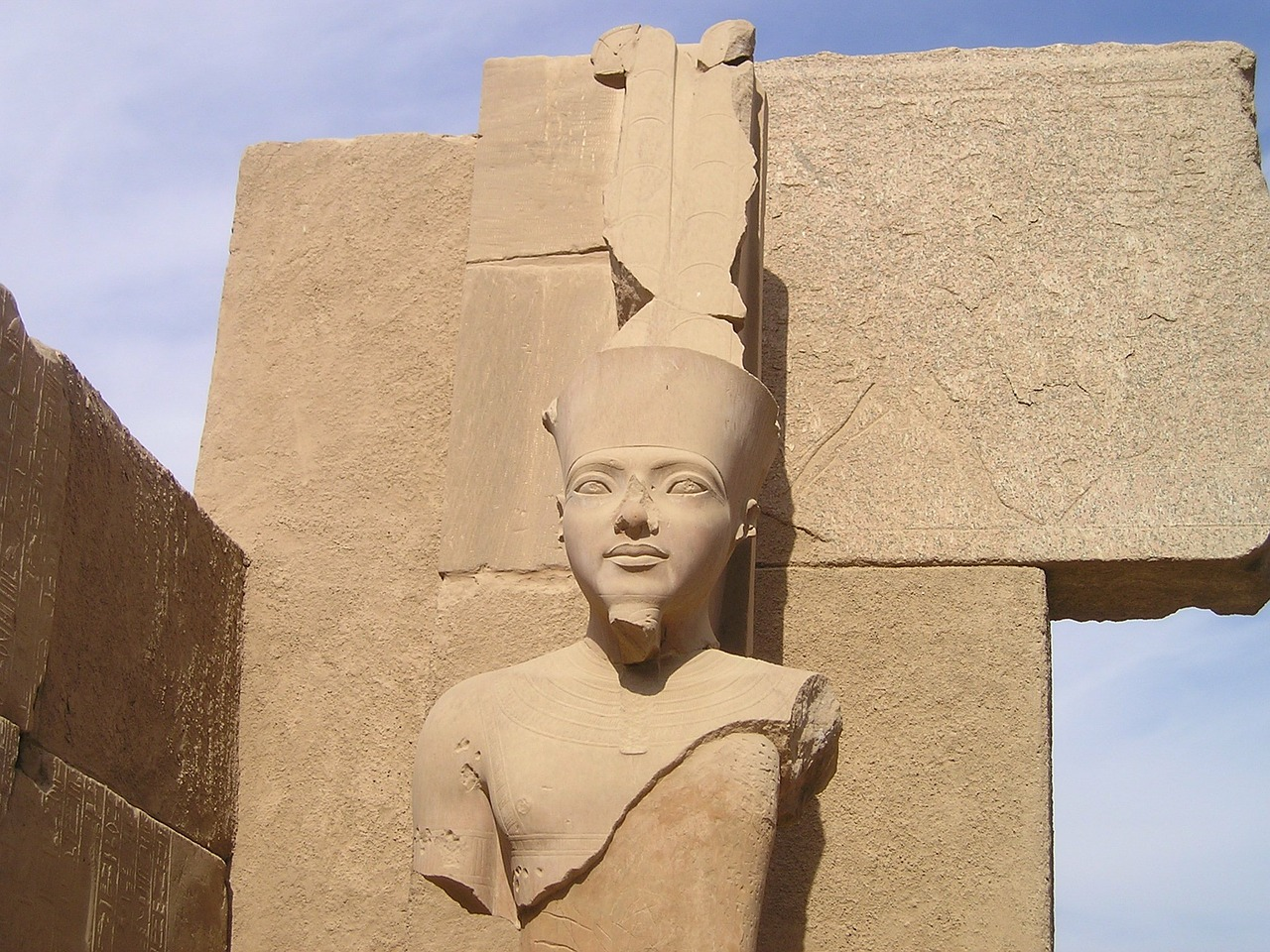 egypt luxor karnak free photo