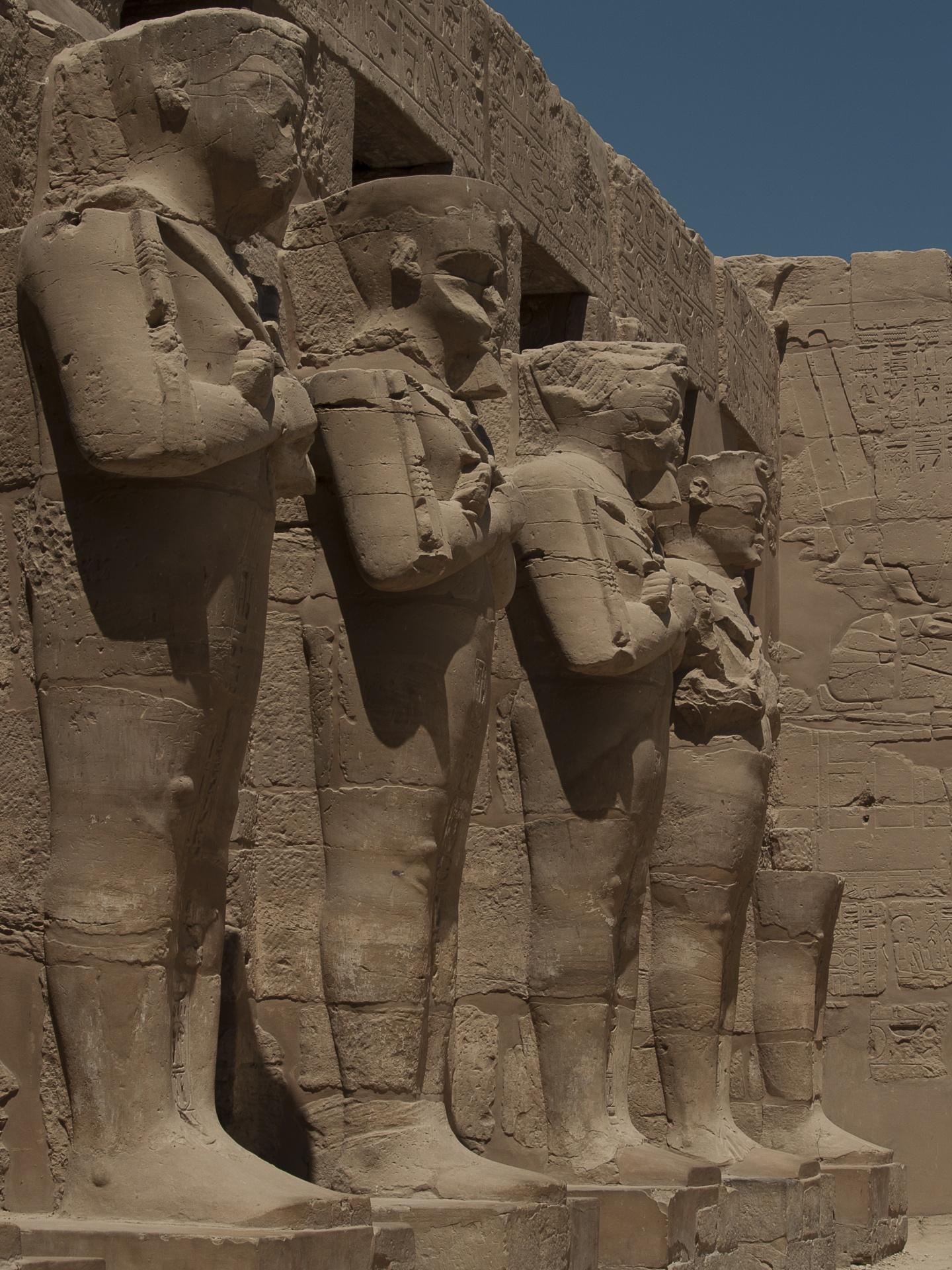 картинки египет статуи