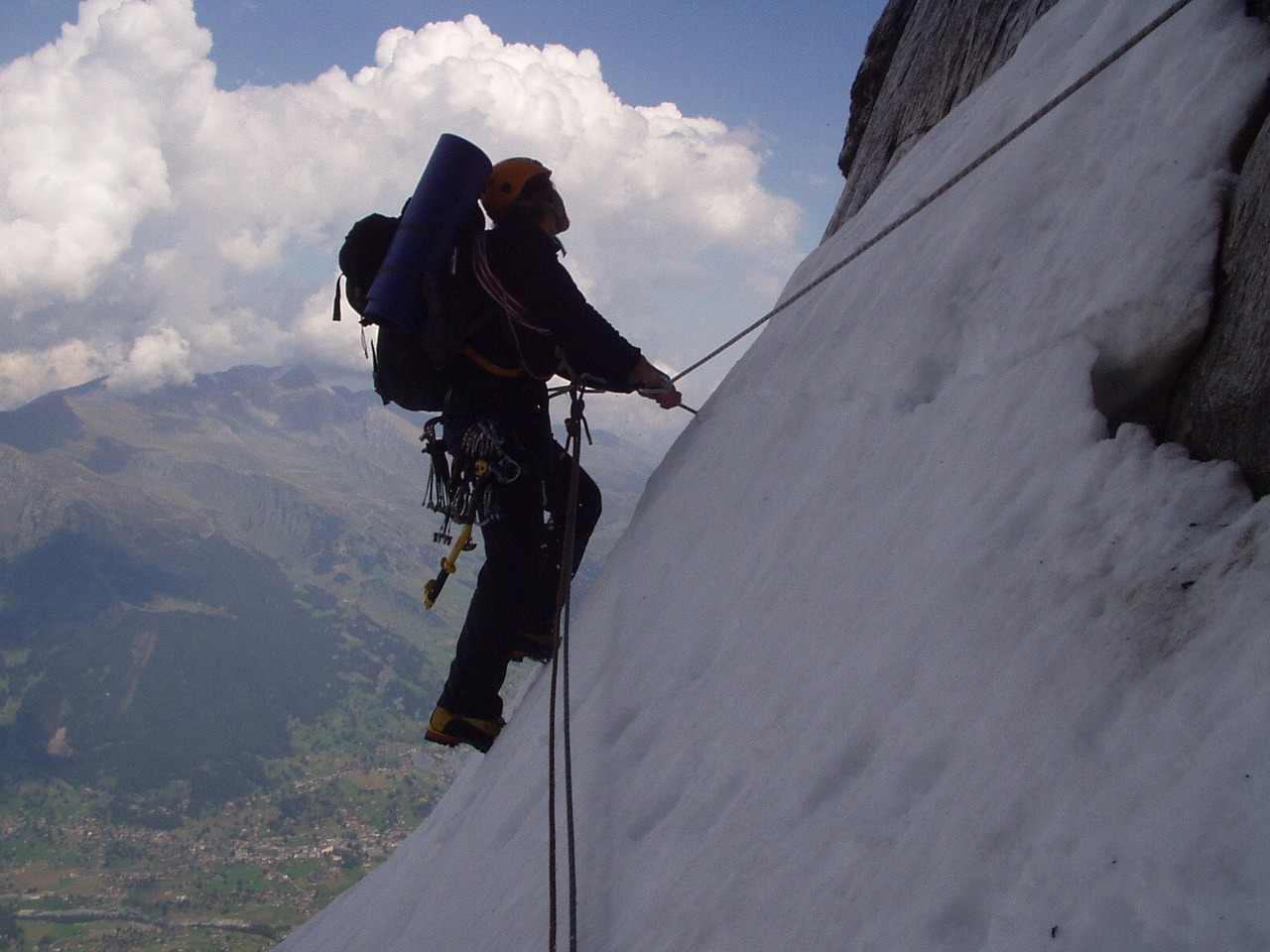 eiger north wall climb free picture