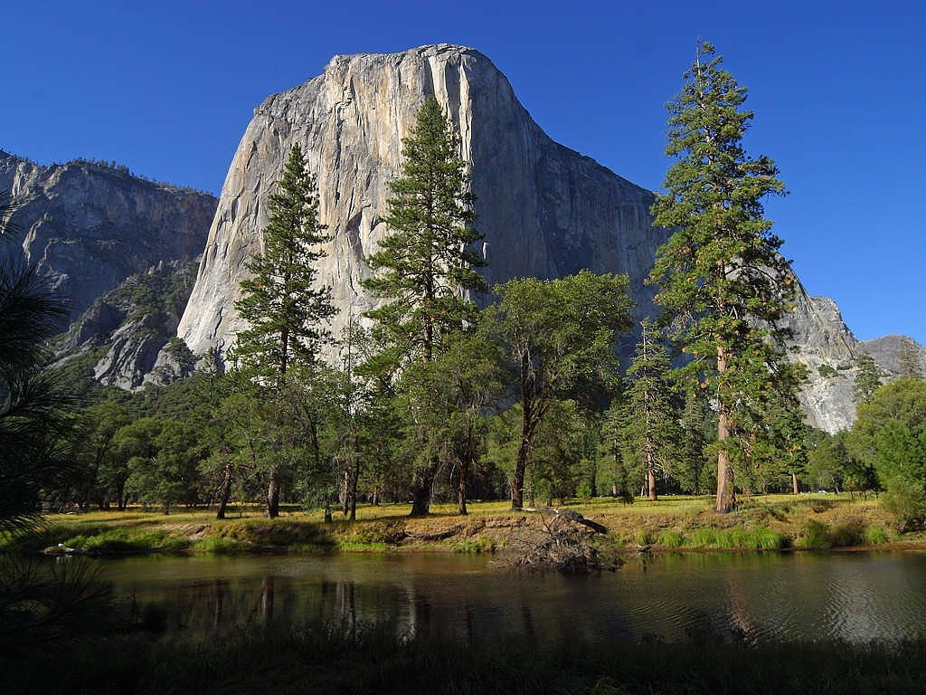 el capitan yosemite valley free photo