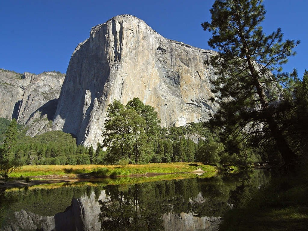 el capitan yosemite valley free picture