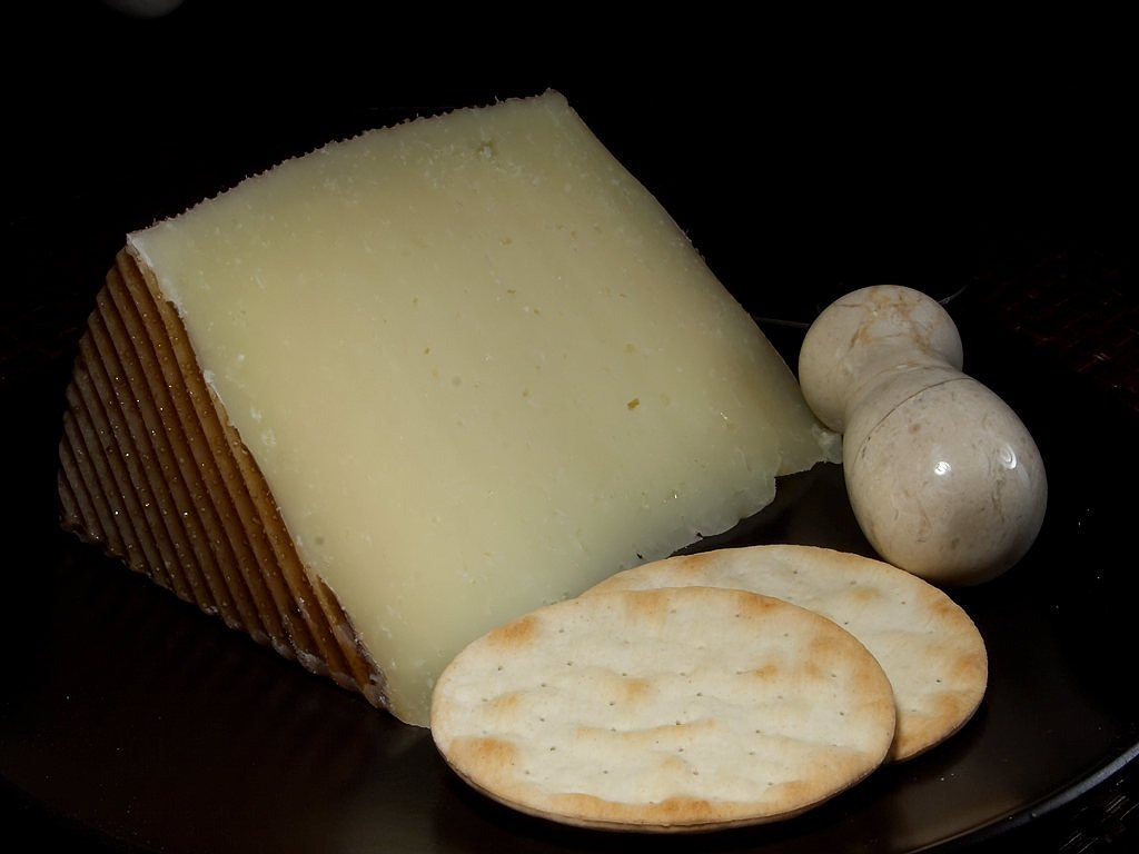 el trigal manchego cheese milk product food free picture