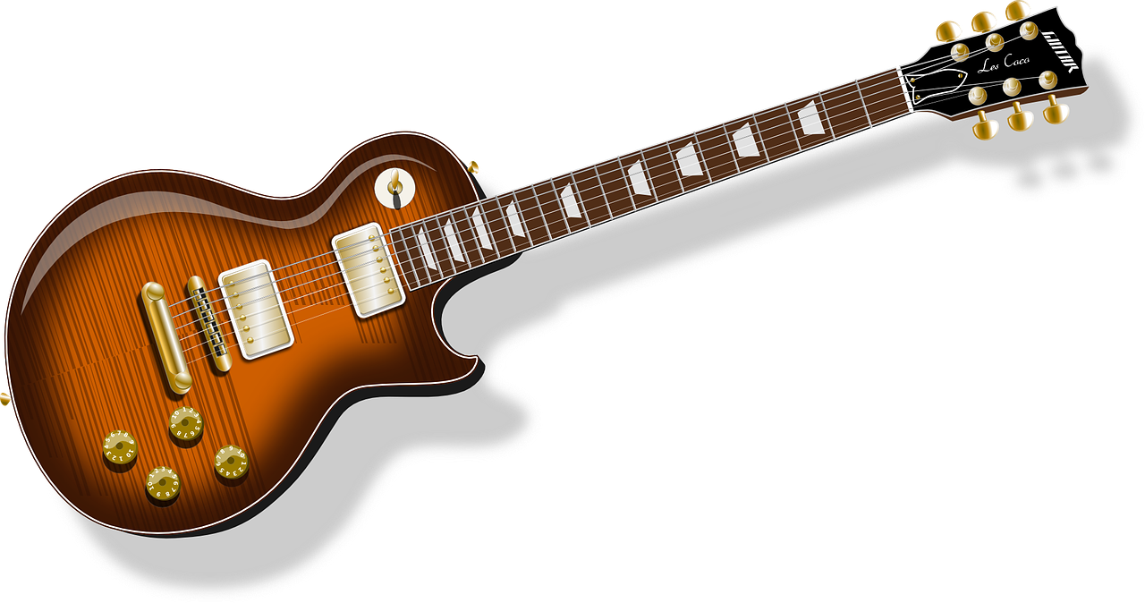electric guitar instrument free photo