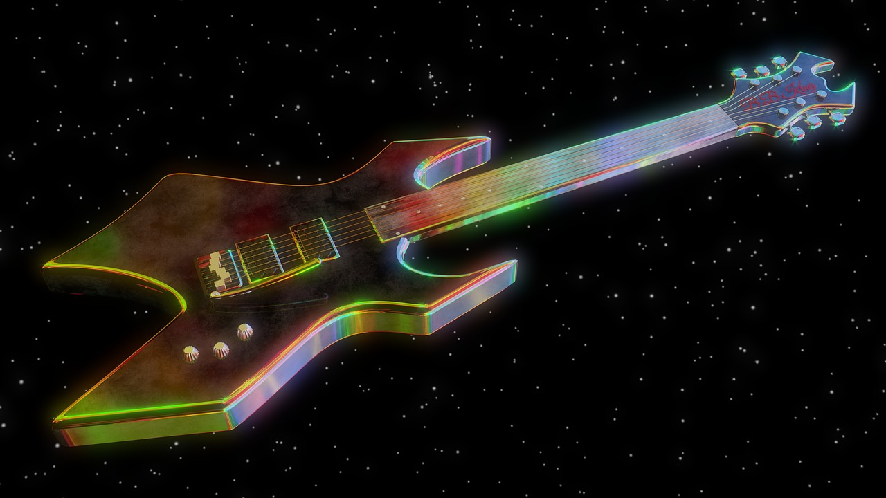 Electric guitar,musical instrument,music,color,strings - free photo