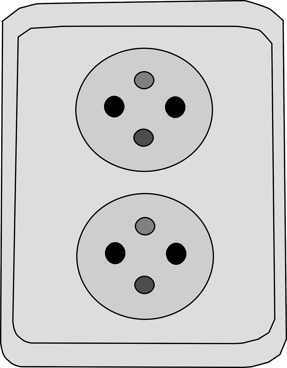 electrical outlet power free photo