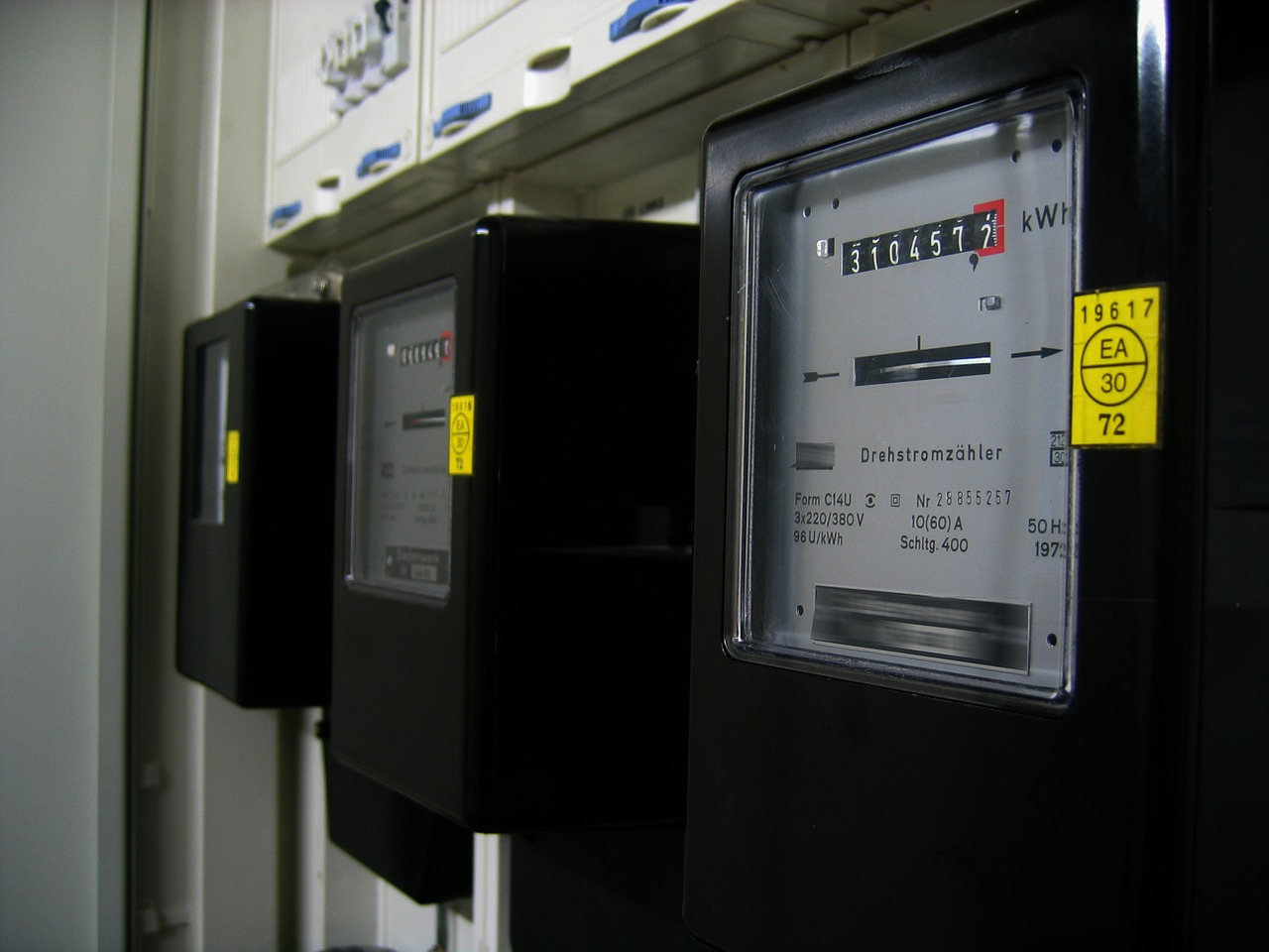 electricity meter current pay free photo