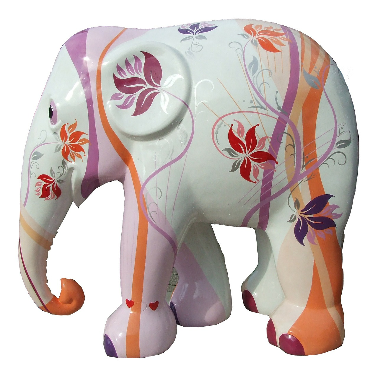 elephant parade trier elephant art free photo
