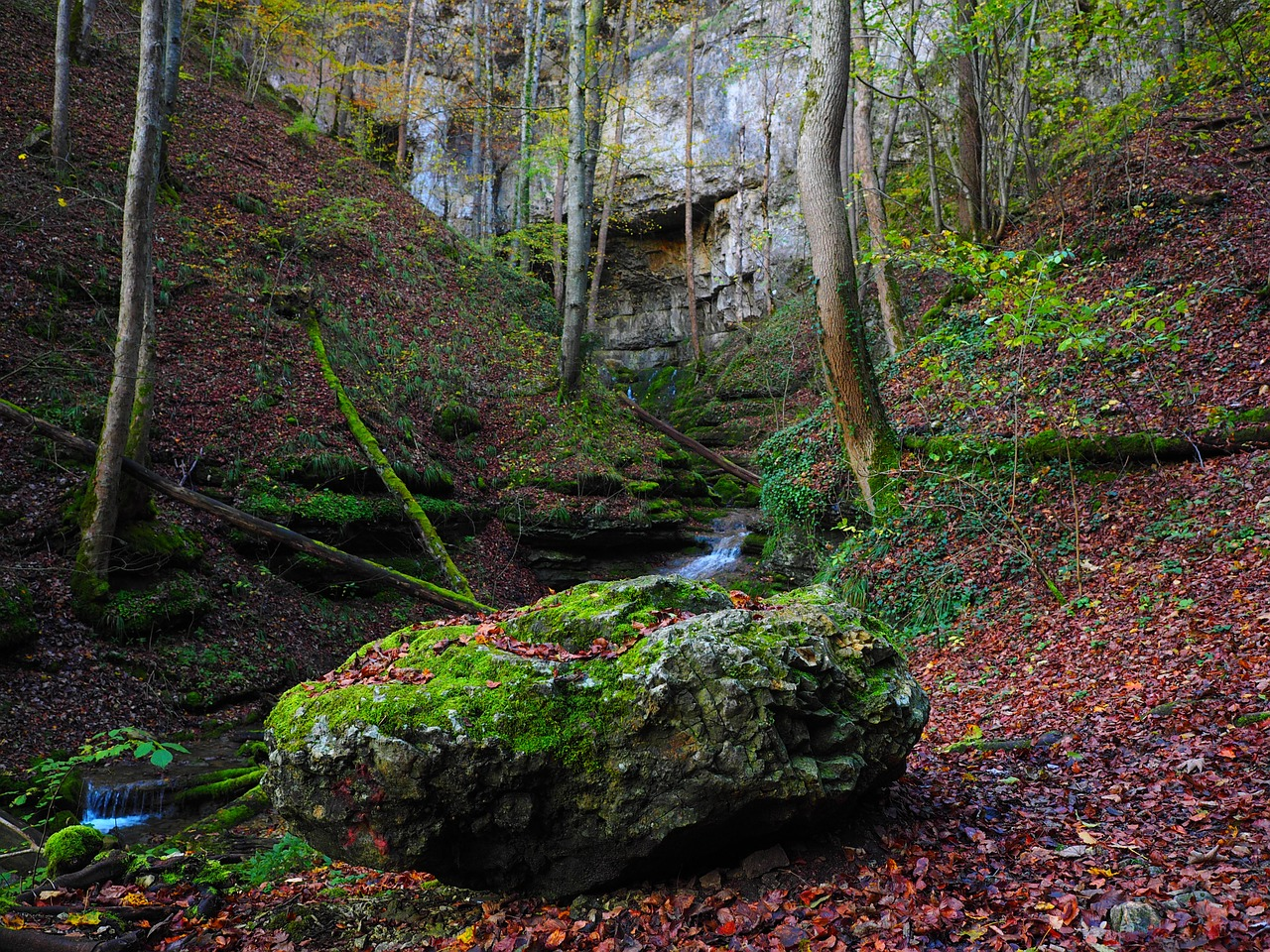 elsach,river,falkensteiner cave,baden württemberg,swabian alb,grave stetten,bad urach,water cave,karst,active water cave,gorge,cave,free pictures, free photos, free images, royalty free, free illustrations, public domain