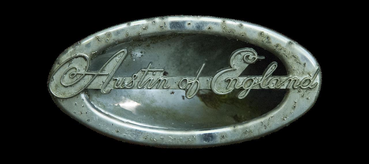 Emblem Austin Of England Austin England Old Free Photo From
