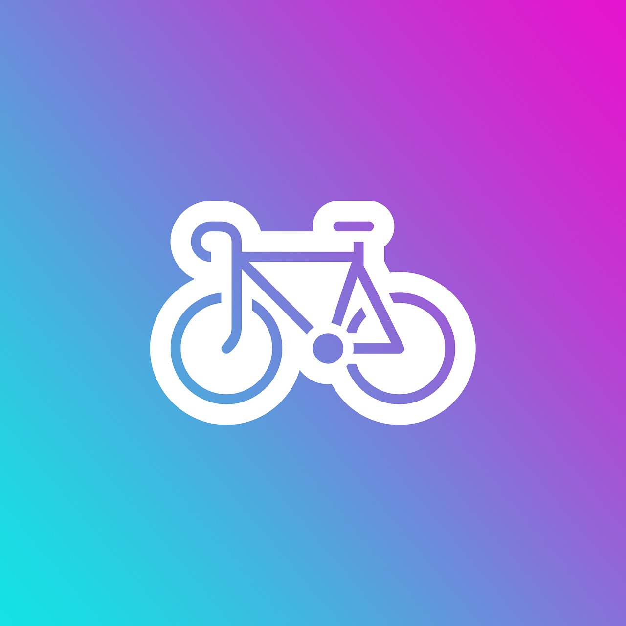 emoji gradient bike free photo